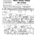 PHILIPS 19TG156A Vintage TV Service Info  by download #90709