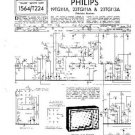 PHILIPS 23TG111A Vintage TV Service Info  by download #90727