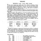 PHILIPS 704A Vintage TV Service Info  by download #90737