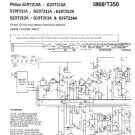 PHILIPS G23T212A Vintage TV Service Info  by download #90758