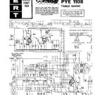 PYE 1108 Vintage Service Information  by download #90779