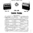 PYE 1362 Vintage Service Information  by download #90795