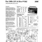 PYE 1369 Vintage Service Information  by download #90800
