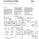 PYE 1374 Vintage Service Information  by download #90806