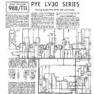 PYE BV30 Vintage Service Information  by download #90864