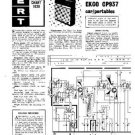 PYE CP937 Vintage Service Information  by download #90870