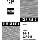 PYE CR939 Vintage Service Information  by download #90874