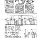 PYE D16T Equipment Service Information by download #90881