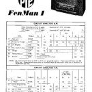PYE FENMAN 1 Vintage Service Information  by download #90897