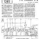 PYE FENMAN II RG Vintage Service Information  by download #90899