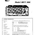 PYE HFT300 Vintage Service Information  by download #90921