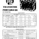 PYE Q6 Vintage Service Information  by download #90969