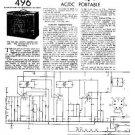 PYE QU_1940 Vintage Service Information  by download #90981