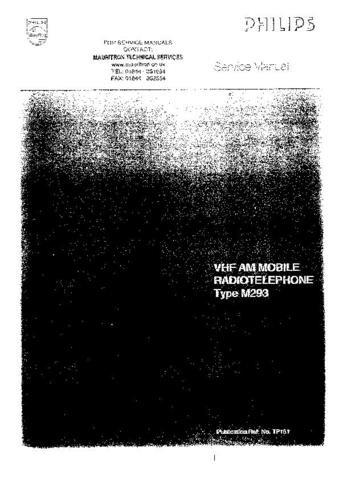 PYE TP_AC Vintage Service Information  by download #91019