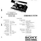 SONY HMK70 Music System Service Manual by download #91085