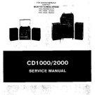 AMSTRAD CD2000 Service Manual by download #91263