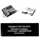 AMSTRAD FX9600T Service Manual by download #91280
