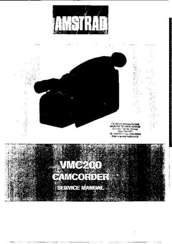 AMSTRAD VCM200 Service Manual by download #91295