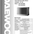 DAEWOO DTE29G3ZZR Service Manual  by download #91340