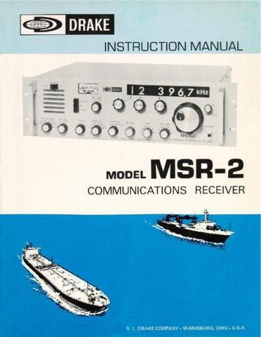 DRAKE MSR2 Technical Information by download #91430