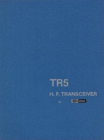 DRAKE TR5 Technical Information by download #91507