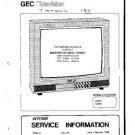 GEC C2501 Service Information  by download #91601