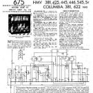 HMV 445 Vintage Service Information  by download #91746