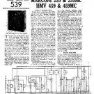 HMV 459 Vintage Service Information  by download #91748