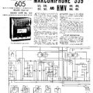 MARCONI 557 Vintage Service Information  by download #91831