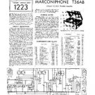 MARCONI T36AB Vintage Service Information by download #91875