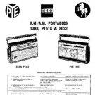 PYE 1388 Vintage Service Information  by download #92000
