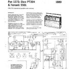 PYE 5501 Vintage Service Information  by download #92037