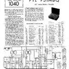 PYE P31MBQ Vintage Service Information  by download #92053