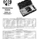PYE PRESIDENT Vintage Service Information  by download #92099