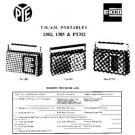 PYE PT312 Vintage Service Information  by download #92105