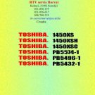 TOSHIBA 1450XS Service Information by download #92254