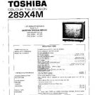 TOSHIBA 289X4M Service Manual by download #92272