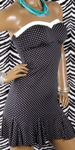 Built-In Bra Polka Dot Dress