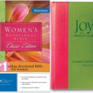 Womens Devotional Bible And Joy For A Womens Soul Bible And Gift Book Set