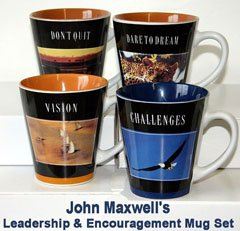 John Maxwells Leadership and Encouragement Mug Set