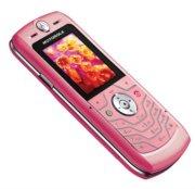 Motorola L6 Pink SLVR Ultra Slim Design Phone With Camera