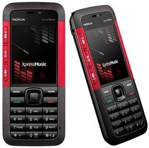 NOKIA 5310 XPRESSMUSIC TRIBAND PHONE UNLOCKED SIM FREE (Red)
