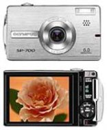 Olympus SP-700 - 6.0 MegaPixels Digital Camera with 3x Optical Zoom & 3.0 LCD Screen