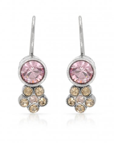 Genuine crystal Pilgrim Skanderborg Denmark earrings