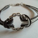 Bracelet with Decorative Metal Ring