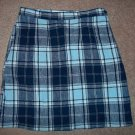 Plaid Mini  Skirt size 6P