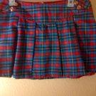 Plaid School Girl Skirt SZ 7
