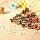 Vintage Style Flower Hair  Pins