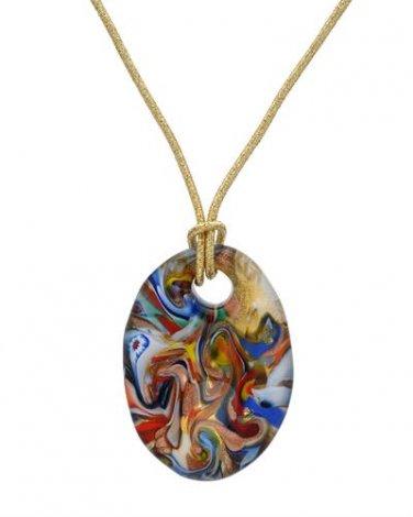 Multicolor Pendant  &  Necklace