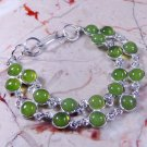 Peridot Bracelet in Silver